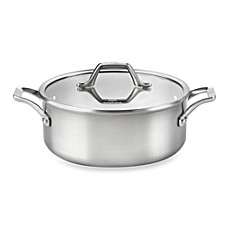 Calphalon® AccuCore™ Stainless Steel 5-Quart Dutch Oven