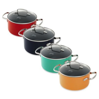 Fiesta® 3-Quart Aluminum Nonstick Covered Casserole