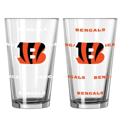 NFL Cincinnati Bengals Color Changing Pint Glasses (Set of 2)