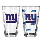 New York Giants Color Changing Pint Glasses (Set of 2)