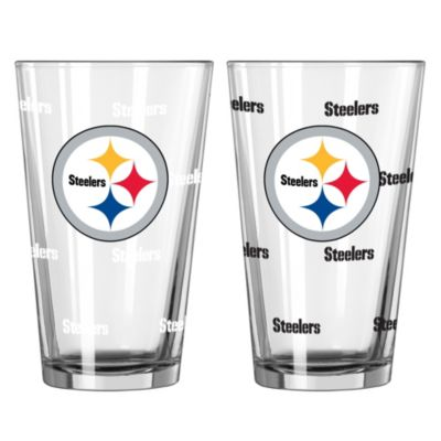 NFL Pittsburgh Steelers Color Changing Pint Glasses (Set of 2)