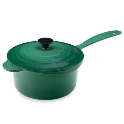 Le Creuset® 2.75-Quart Iron Handle Precision Pour Saucepan in Fennel
