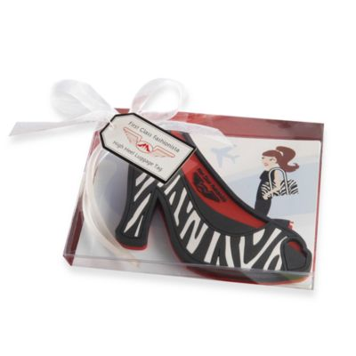 Kate Aspen® First Class Fashionista High Heel Luggage Tag