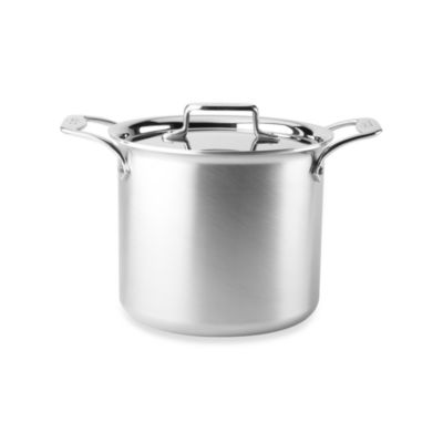 All-Clad d5 Brushed Stainless Steel 7-Quart Covered Stock Pot