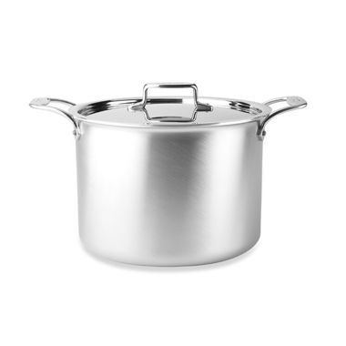 All-Clad d5 Brushed Stainless Steel 12-Quart Covered Stock Pot