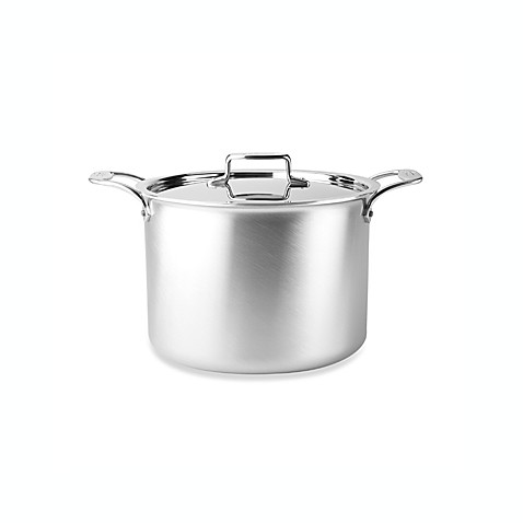 All-Clad d5 Brushed Stainless Steel 12-Quart Covered Stockpot
