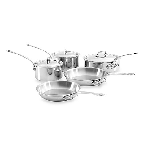 Mauviel M'Cook 8-Piece Cookware Set