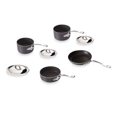 Mauviel M'stone2 Aluminum 7-Piece Cookware Set