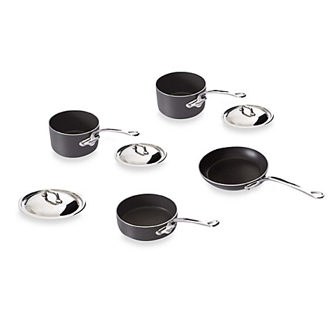 Mauviel M'stone2 Aluminum 7-Piece Cookware Set and Open Stock