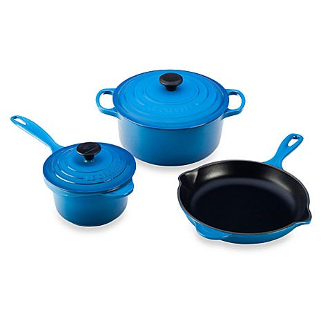 Le Creuset 5-Piece Signature Set in Marseille