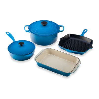 Le Creuset® 6-Piece Signature Set in Marseille