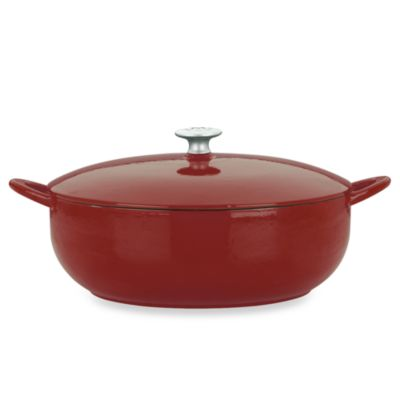 Mario Batali by Dansk™ Classic 7.5-Quart Enameled Cast Iron Covered Stew Pot