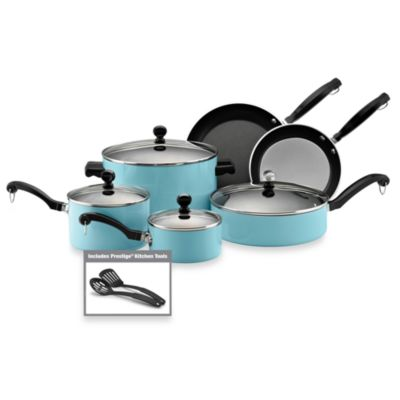 Farberware® Classic Aluminum 12-Piece Cookware Set in Turquoise