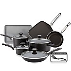 Farberware® High Performance Aluminum Nonstick 12-Piece Cookware Set in Black