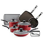 Farberware® High Performance Aluminum Nonstick 12-Piece Cookware Set in Red