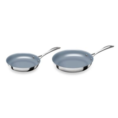 Zwilling J.A. Henckels Spirit 8-Inch and 10-Inch Ceramic Coated Nonstick Fry Pan Set