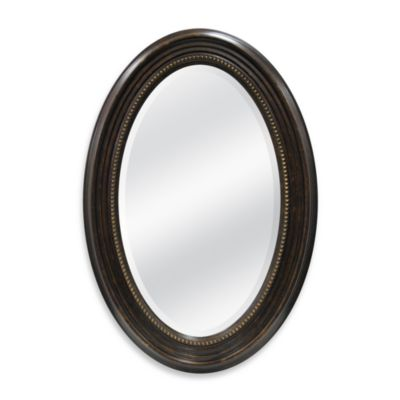 Buy Decorate Oval Mirror From Bed Bath Beyond