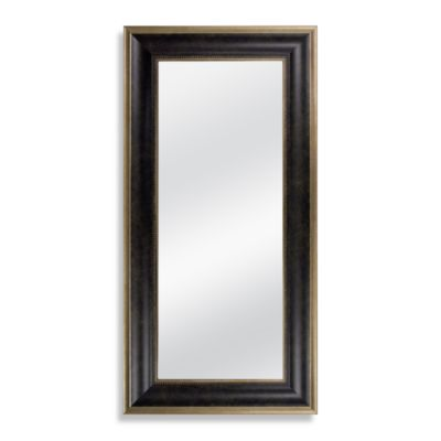 8 x 20-Inch Accent Mirror in Marbled Bronze Finish