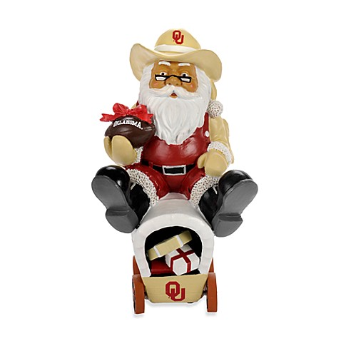 University of Oklahoma Thematic Santa