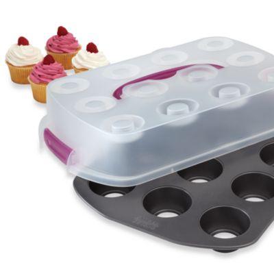 Chicago Metallic™ Uptake Bake and Serve Cupcake Set