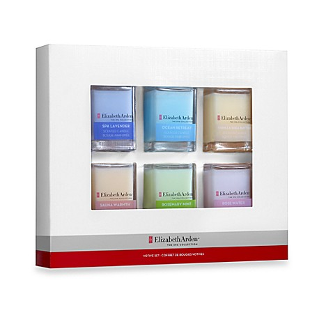 Elizabeth Arden™ The Spa Collection 6-Piece Mixed Votive Candle Gift Set