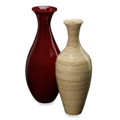 Bamboo Vase Decoration