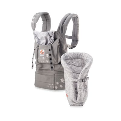 Ergobaby® Original Collection Bundle of Joy Galaxy Grey Carrier with Galaxy Grey Infant Insert