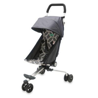 QuickSmart® Back Pack Stroller in Geometric Grey/Black