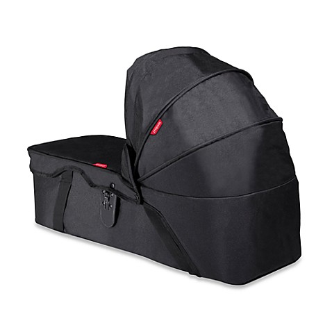 phil&teds® Snug™ Carrycot for Dot™ and Navigator™ Strollers in Black
