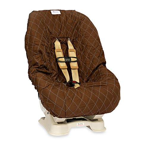 Nomie Baby® Toddler/Convertible Car Seat Cover in Brown/Blue