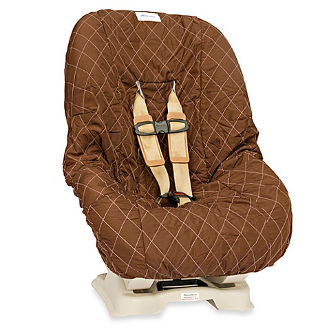 Nomie Baby® Toddler/Convertible Car Seat Cover in Brown/Pink