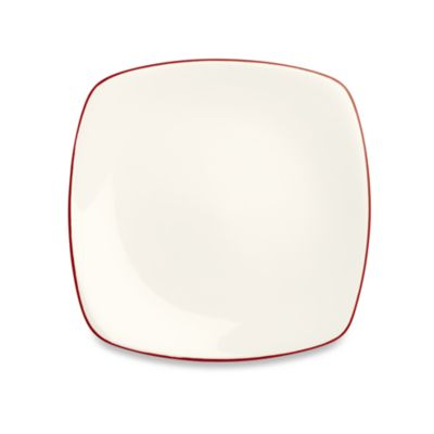 Noritake® Colorwave Raspberry 10 3/4-Inch Square Dinner Plate