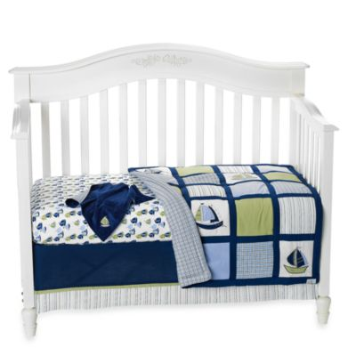 Nautica Kids® Zachary 6-Piece Crib Bedding Set