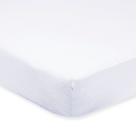 aden® by aden + anais® Muslin Crib Sheet in Solid White