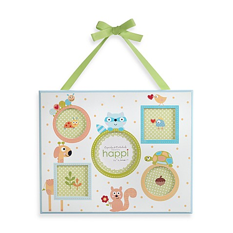 Two's Company Happi Animal Frame in Green