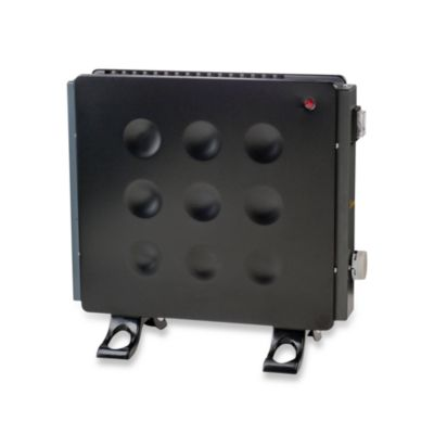 Crane Allergy-Friendly Convection Heater in Black