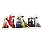Trumpette Boys 6-Pack Plaid Johnny Socks – 0 to 12 Months