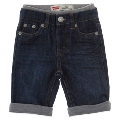 Levi's® Size 3-6M Sullivan Pull-On Slim Straight Fit Cuffed Jeans in Glare