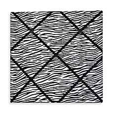 Rock Your Room Ribbon Memo Board in Zebra