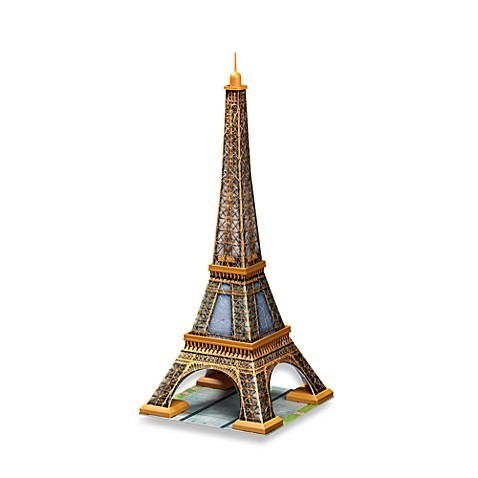 Buy RavensburgerR Eiffel Tower 216 Piece 3D Puzzle From Bed Bath Amp Beyond