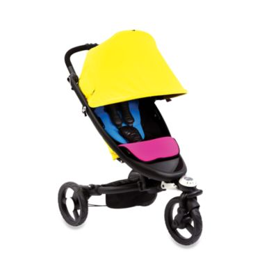 bloom® zen™ All-Terrain Stroller in Cyan/ Magenta