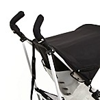 CityGrips Double Handlebar Stroller Grip Covers in Black Towel