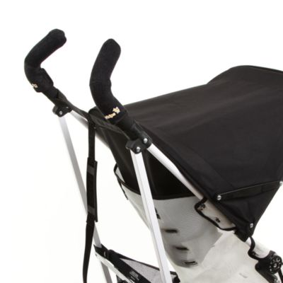 CityGrips Double Handlebar Stroller Grip Covers in Just Black
