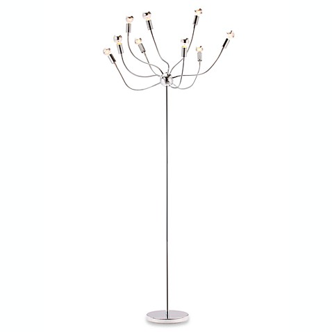 Zuo® Accents Stellar 9-Light Chrome Floor Lamp