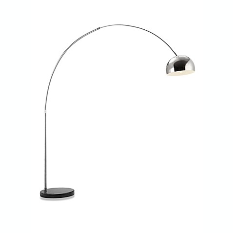 Zuo® Accents Spectral 1-Light Chrome Floor Lamp