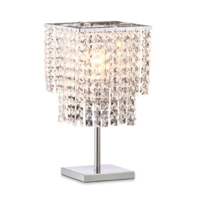 Zuo® Accents Falling Stars 1-Light Chrome Table Lamp
