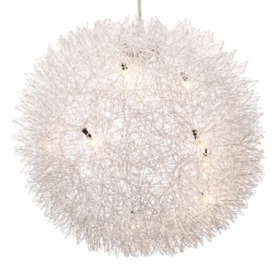 Zuo Accents Warp 8-Light Aluminum Ceiling Lamp