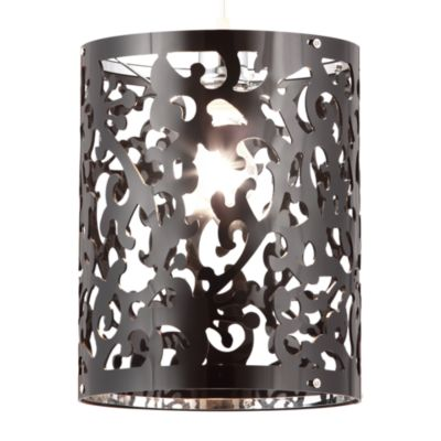 Zuo® Accents Casimir 1-Light Black Ceiling Lamp