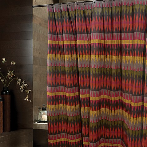 Seneca 72-Inch x 72-Inch Shower Curtain