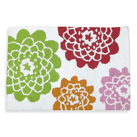 Stella Pink Bath Bathroom Rug